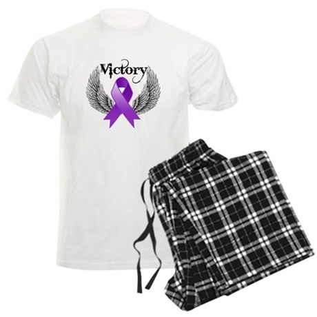 Victory Pancreatic Cancer Men's Light Pajamas