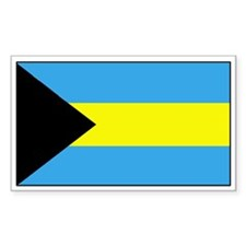 Bahamas Flag Decal Rectangle Decal