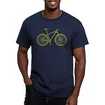 B.O.M.B. Men's Fitted T-Shirt (dark)