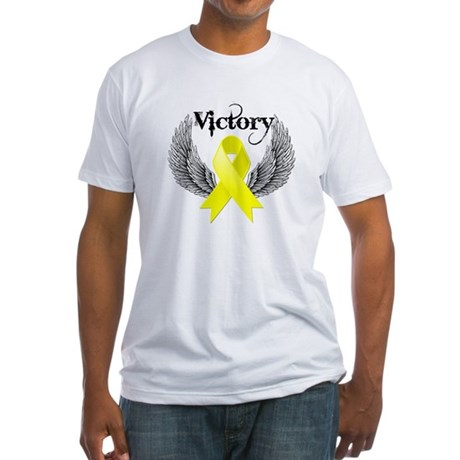 Victory Sarcoma Fitted T-Shirt