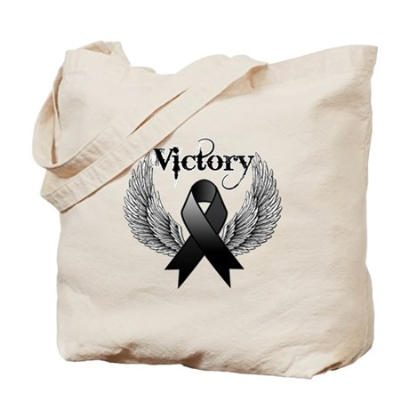 Victory Skin Cancer Tote Bag