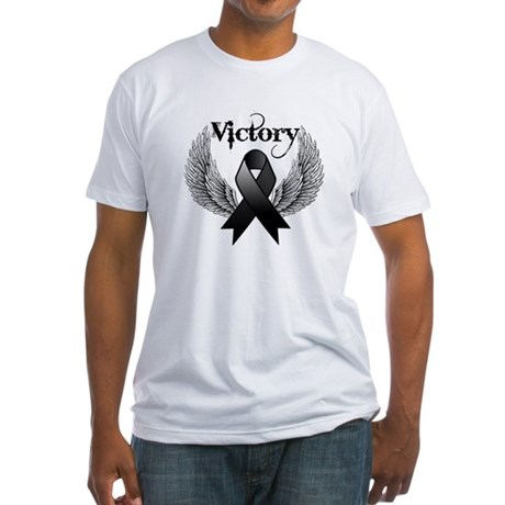 Victory Skin Cancer Fitted T-Shirt