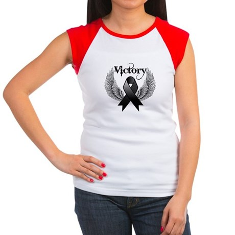 Victory Skin Cancer Women's Cap Sleeve T-Shirt