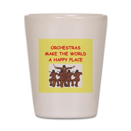 orchestra Shot Glass