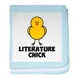Literature Chick baby blanket