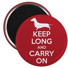 Keep Long and Carry On Magnet