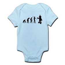 Robot Evolution Go Back Infant Bodysuit