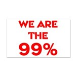 WE ARE THE 99% 22x14 Wall Peel