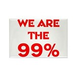 WE ARE THE 99% Rectangle Magnet (100 pack)