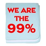 WE ARE THE 99% baby blanket