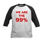 WE ARE THE 99% Kids Baseball Jersey