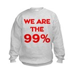 WE ARE THE 99% Kids Sweatshirt