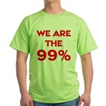WE ARE THE 99% Green T-Shirt
