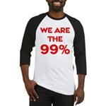 WE ARE THE 99% Baseball Jersey