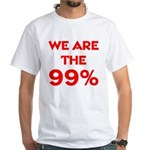 WE ARE THE 99% White T-Shirt