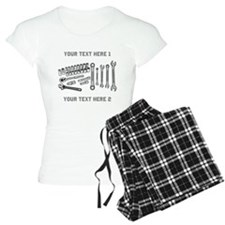 Wrenches with Text. Pajamas