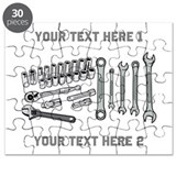 Wrenches with Text. Puzzle