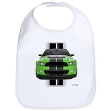 New Mustang Green Bib