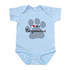 I Love My Bergamasco Infant Bodysuit