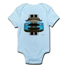 New Mustang Blue Infant Bodysuit
