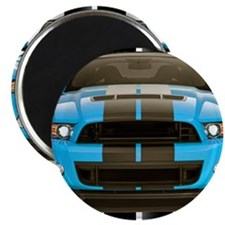 "New Mustang Blue 2.25"" Magnet (100 pack)"