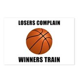 Basketball Winners Train Postcards (Package of 8)