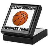 Basketball Winners Train Keepsake Box