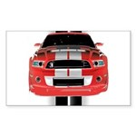 New Mustang GTR Sticker (Rectangle)