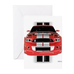 New Mustang GTR Greeting Cards (Pk of 10)
