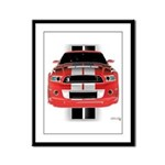 New Mustang GTR Framed Panel Print