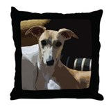 Whippet Throw Pillow