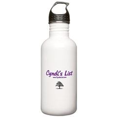 Cyndi's List Water Bottle