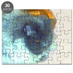 Blue Persian Cat Gifts Puzzle
