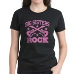 Big Sisters Rock Women's Dark T-Shirt