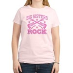 Big Sisters Rock Women's Light T-Shirt