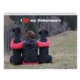 Doberman's and Nature calendar