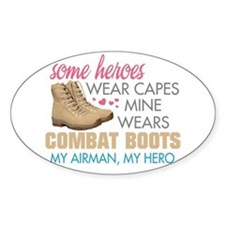 Cute Airman mom Decal