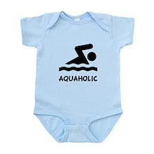 Aquaholic Swimmer Onesie