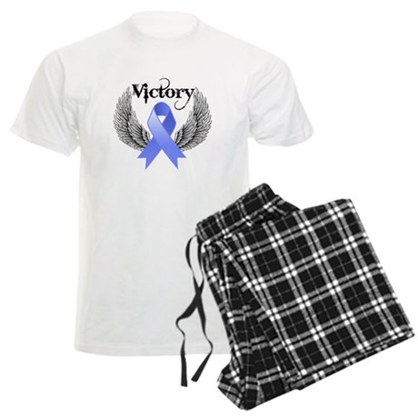 Victory Stomach Cancer Men's Light Pajamas