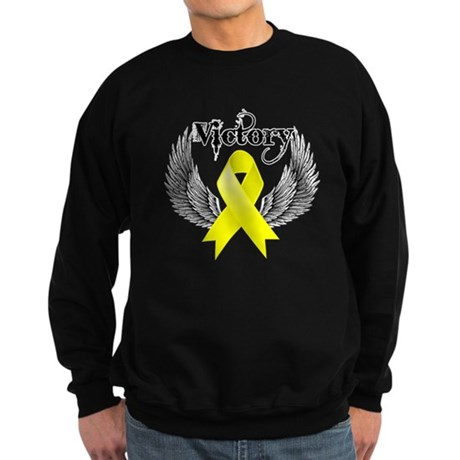 Victory Testicular Cancer Sweatshirt (dark)
