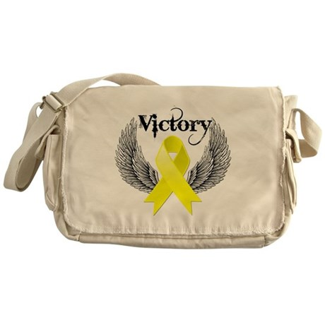 Victory Testicular Cancer Messenger Bag