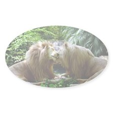 Affectionate Lions Decal