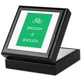 Enough Is Enough var Bike Keepsake Box