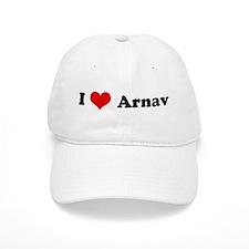 I Love Arnav Baseball Cap