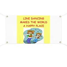 line dancing Banner
