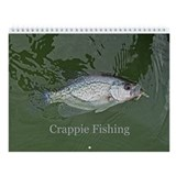 Crappie Fishing Wall Calendar