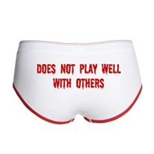 Does Not Play Well Women's Boy Brief