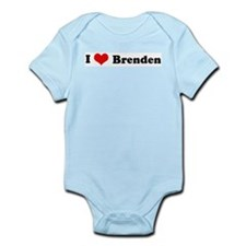 I Love Brenden Infant Creeper