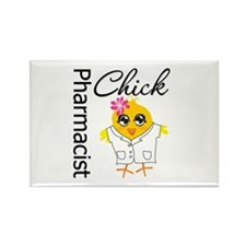 Pharmacist Chick Rectangle Magnet