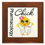 Pharmacology Chick Framed Tile